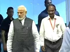 PM Modi Briefed By ISRO Chief On Chandrayaan 2's Status