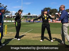 """You Think You've Seen It All"": Australia Women's Team's Bizarre Move To Use Stand-In Coin Tosser. Watch"