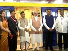 PM Modi Inaugurates First 'Make in India' Metro Coach In Mumbai: Highlights