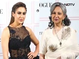 Video : Sharmila Tagore And Sara Ali Khan At Vogue Beauty Awards 2019
