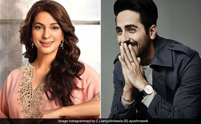 Juhi Chawla's Birthday Gift For Ayushmann Khurrana: '100 Trees For Cauvery Calling' Campaign