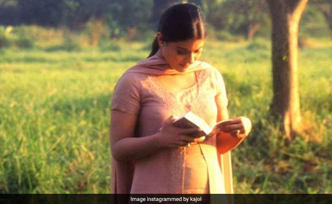 Every Book Lover Will Relate To Kajol's Throwback Post