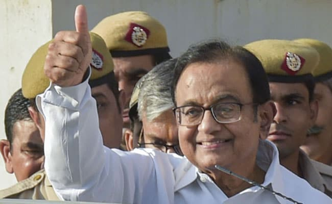 INX Media Case: CBI Gets Supreme Court Notice On P Chidambaram's Bail Plea