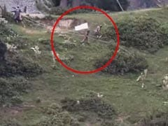 Video Shows Pak Soldiers With White Flag Retrieve Bodies Near LoC