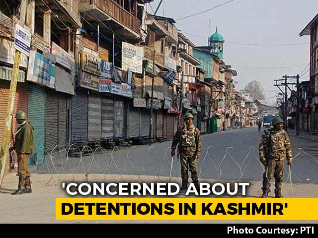 "Video : ""Deeply Concerned,"" Says UN Rights Chief On Kashmir, Raises Assam Too"