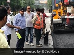 Noida Authorities Begin Using Plastic Waste In Construction Of Roads