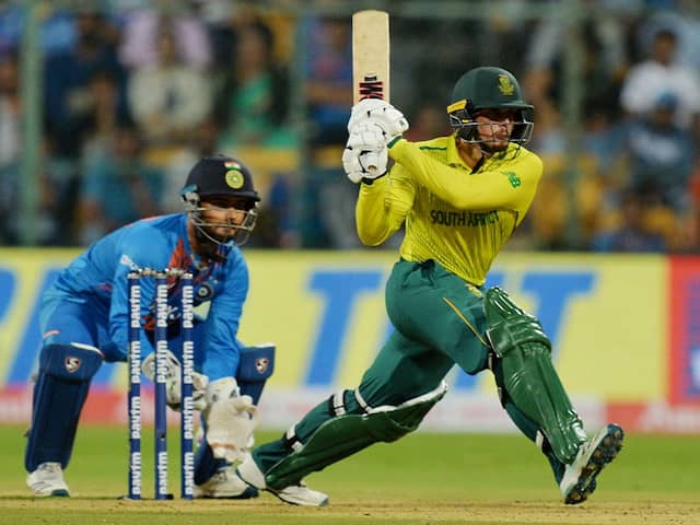Quinton de Kock Powers South Africa To Dominating Victory Against India As T20I Series Ends Level