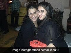 सारा अली खान ने मम्मी अमृता सिंह के साथ पोस्ट की ऐसी फोटो, यूं बनाया अपना मजाक