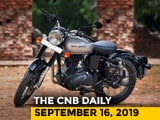 Video : Royal Enfield Classic 350 S, Honda And Tata Discounts, Mahindra Plant