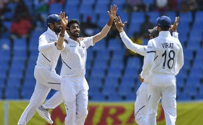 West Indies vs India 2nd Test Day 2  LIVE Score, WI vs IND Live Cricket Score