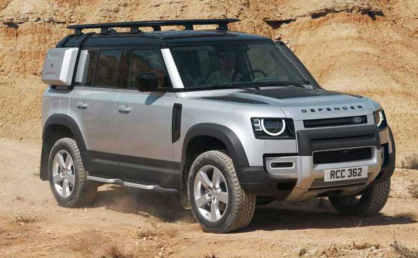 The new Land Rover Defender has been launched in India as a completely built unit (CBU).