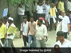 Thousands Flood Bengaluru To Protest DK Shivakumar's Arrest, Traffic Hit