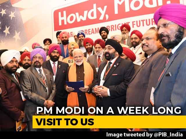 Video : PM Modi Meets Sikhs, Bohra And Kashmiri Pandit Communities In Houston