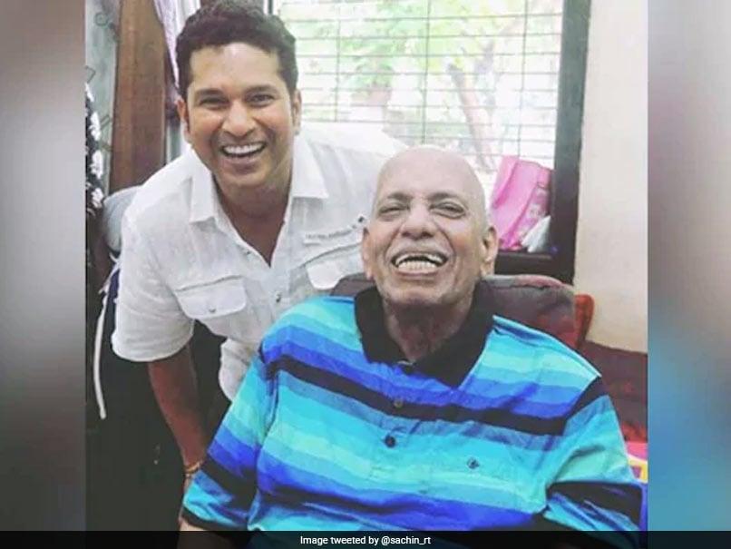 """His Lessons Continue To Guide Me Today"": Sachin Tendulkar Remembers Ramakant Achrekar On Teachers"