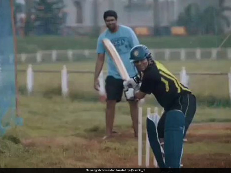 You would never ever have seen Sachin Tendulkar this