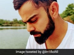 "Virat Kohli ""Caught In The Moment"" By Anushka Sharma"