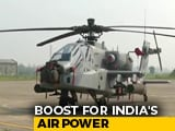 Video : 8 US-Made Apache Attack Choppers Join Indian Air Force Fleet
