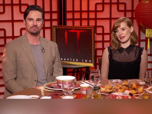 Jessica Chastain & Jay Ryan On Their Horror Film It Chapter Two