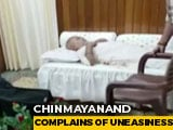 "Video : BJP's Chinmayanand, Accused Of Rape, Treated By Doctors For ""Uneasiness"""