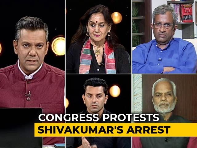 Video : After P Chidambaram, It's DK Shivakumar - Political Vendetta Or Law Catching Up?