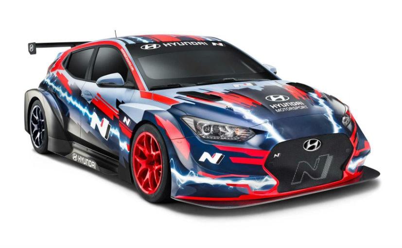 2019 Frankfurt Motor Show: Hyundai Veloster N ETCR Electric Race Car Revealed
