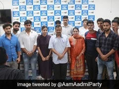 DU's South Campus Students Join AAP's Student Wing