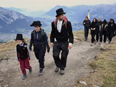 "Swiss Hold ""Funeral March"" To Mark The Disappearance Of Alpine Glacier"