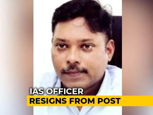 "Video : Karnataka IAS Officer Quits, Says ""Democracy Being Compromised"""