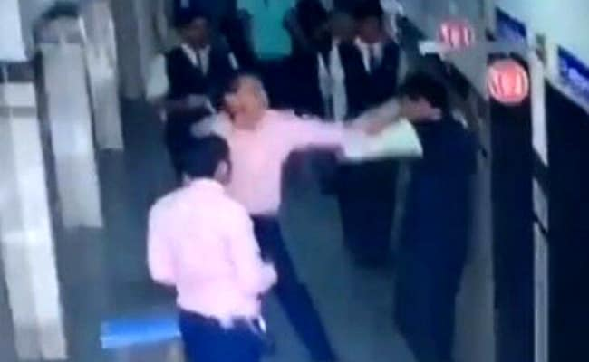 Gujarat School Teacher, Seen Thrashing Teen On CCTV, Attacked By Parents