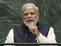 """""""India's Contribution To Global Warming Very Low"""": PM Modi At UN"""