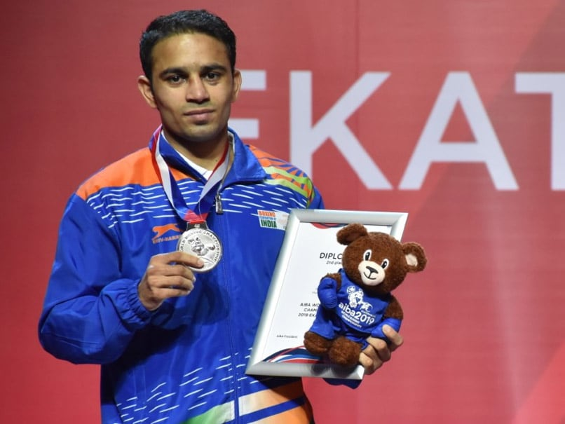 Amit Panghal is World No.1 in IOCs Boxing Task Force rankings for Olympic Qualifiers