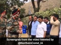 Northern Command Chief Visits Jammu And Kashmir, Meets Locals