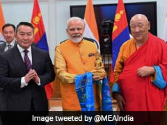 PM Modi, Mongolian President Unveil Lord Buddha Statue Via Video Link