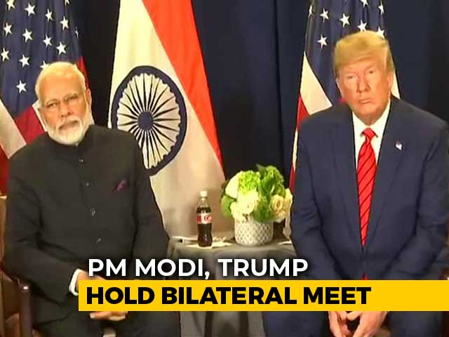 Video : Donald Trump Meets PM Modi, Says Will Soon Have Trade Deal With India
