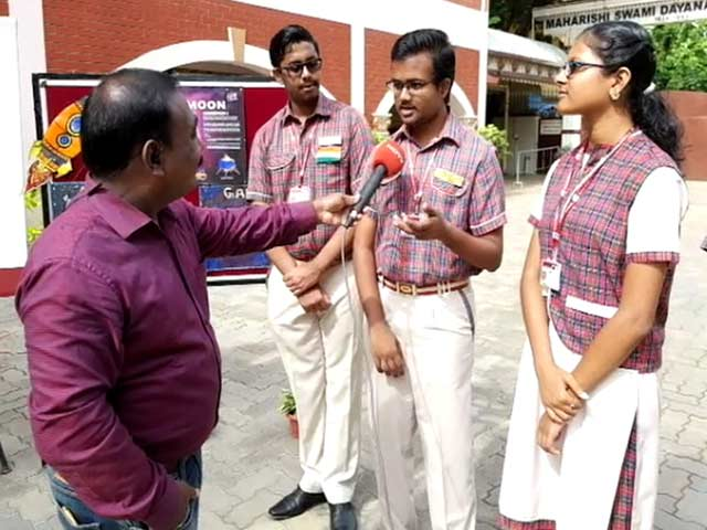 Video : No Exam Fever, Only Chandrayaan 2 Fever Among Chennai Students