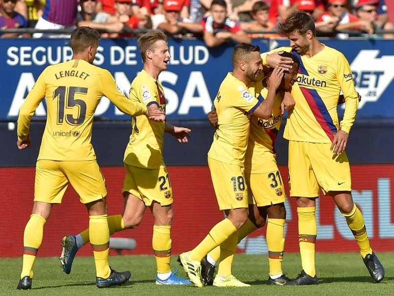 La Liga: Barcelona Pegged Back By Osasuna Despite Ansu Fati Heroics