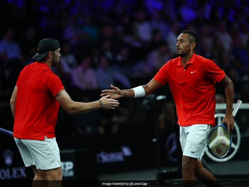 Laver Cup: Jack Sock, Nick Kyrgios Keep Team World In Touch