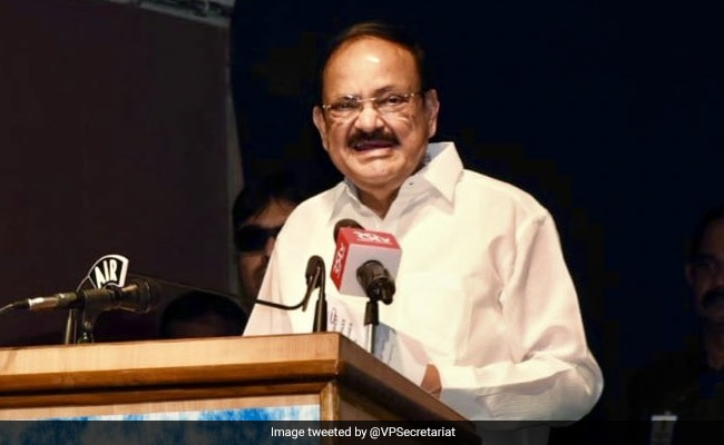 M Venkaiah Naidu Suggests Milk Be Made Part Of Mid-Day Meal Scheme