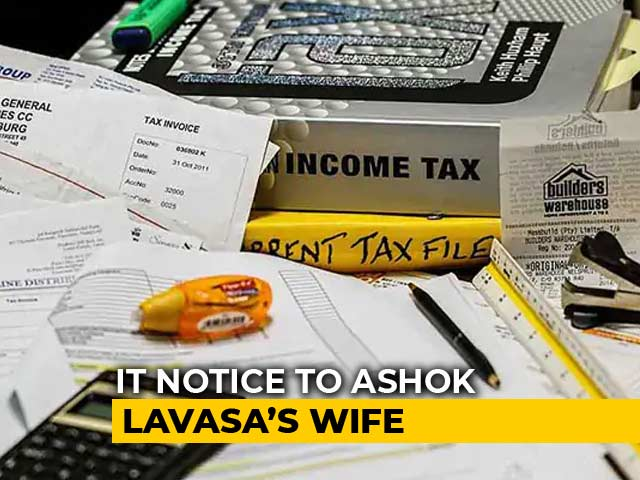 Video: Income Tax Notice To Election Commissioner Ashok Lavasa's Wife
