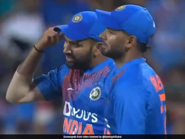 Rohit Sharma Loses His Cool, Asks Navdeep Saini To Use His Brain. Watch Video