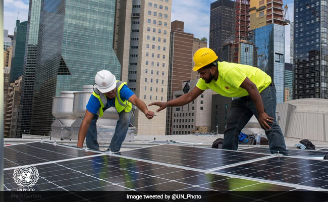 'A Gift From India': UN Headquarters Gets Solar Panels On Its Roof