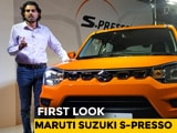 Video: Maruti Suzuki S-Presso First Look