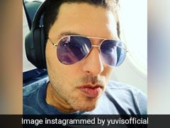 "Sania Mirza Hilariously Trolls Yuvraj Singh For His New ""Chikna Chamela"" Look"