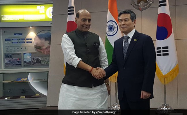 India Signs Defence Agreements With South Korea As Rajnath Singh Visits