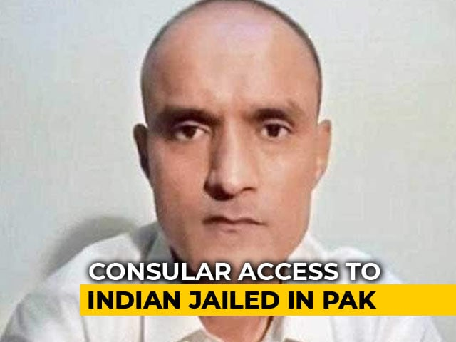 "Video : ""Kulbhushan Jadhav Under Extreme Pressure"": India After Meeting In Prison"