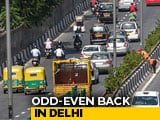Video : Odd-Even Car Scheme In Delhi From November 4 To 15: Arvind Kejriwal