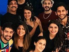 Ibiza Diaries: Samantha Ruth Prabhu, Naga Chaitanya, Nagarjuna's Family Pack Pic