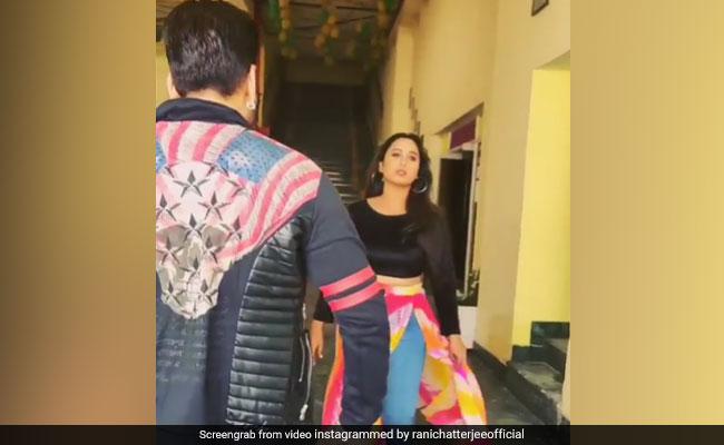 भोजपुरी एक्ट्रेस रानी चटर्जी का अचानक 'भाईजान' से हुआ सामना, फिर किया ऐसा- देखें थ्रोबैक Video
