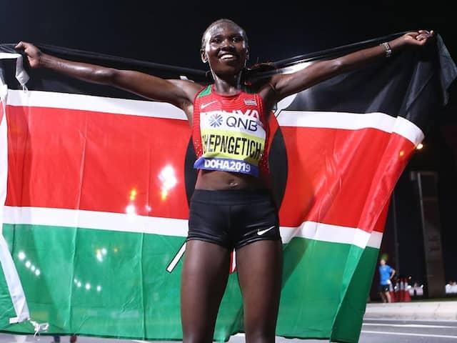 World Athletics Championships: Ruth Chepngetich Takes Womens Marathon Gold As Heat Decimates Rivals