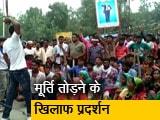 Video : भीमराव अंबेडकर की मूर्ती तोड़े जाने के विरोध में सहारनपुर में विरोध-प्रदर्शन